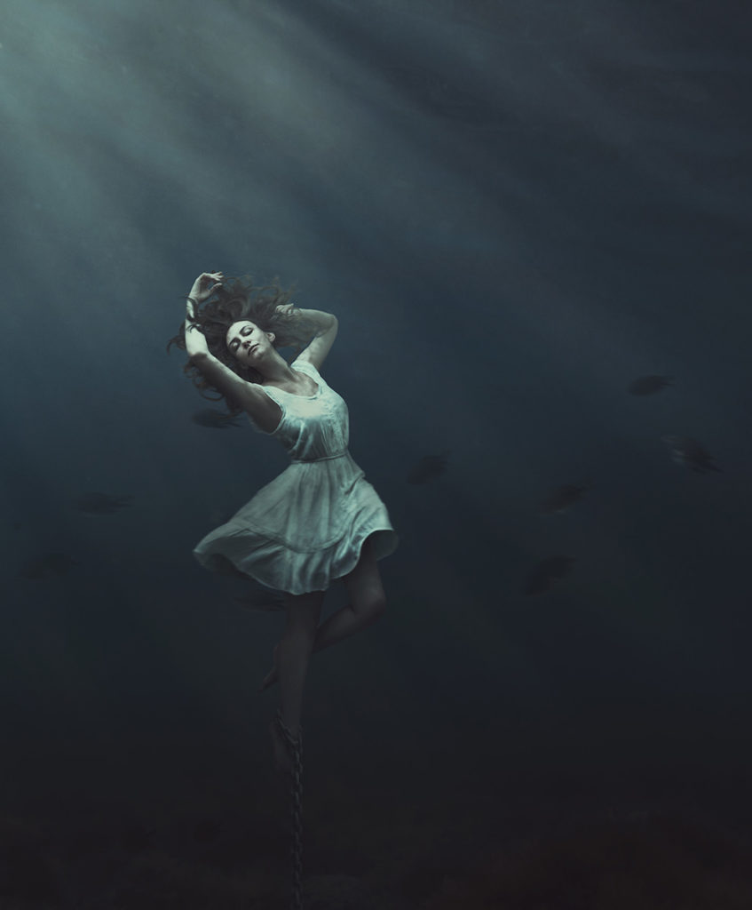 Trapped Underwater